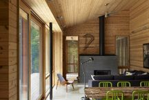 Cabin in the Woods / We are building a modern cabin in the woods near Seattle Washington and you can keep up with our building updates here: http://anemeraldcitylife.com/category/daily-life/building-a-cabin-in-the-woods/