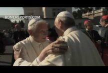 Papież Franciszek i Papież Benedykt 16