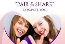 """""""PAIR & SHARE"""" COMPETITION / Here you will find all the pictures for the competition """"Pair & Share""""! #pairnshare"""