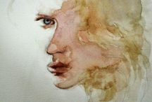 Watercolours Elena Soldano