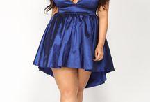 Curvy - Kort kjole