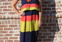 maxi dresses/skirts / by Amber Hunsley