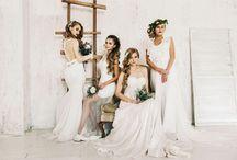 Массовое фото невест
