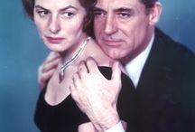 Ingrid Bergman och Cary Grant.