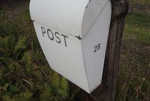 Letter box / Letterboxes