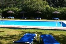 Zonas de ocio Camping Playa de la Franca / by Camping Playa de la Franca Bungalows-Asturias