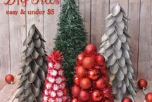 Christmas trees to make!