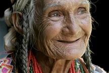 portrait de vielle personne