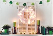 St. Patrick's Day Decorations / Simple and fun holiday decorations for St. Paddy's Day