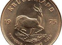 Krugerrand Coins / Krügerrand Goldmünzen