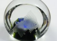 Paperweights / Beautiful glass paperweights
