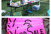 Yard Sale Ideas / by Heather Hermann