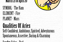 Aries/Personality / my personality, things I would soooo do, or things I would say. / by Jeanette Hildwine
