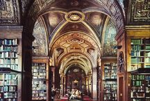 Quirky Bookshops / Awe-inspiring Libraries / There is little in life that brings the same joy as a full bookshelf ...