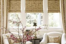 Window treatments / by Heather Hutchings Rogers