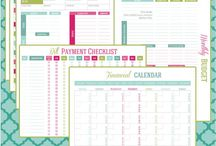 Life Planning / Financial & Life Organizing Printables