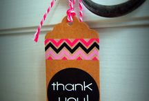 Gift tags and stickers / DIY craft supplies which add a special touch to your gifts and cards.