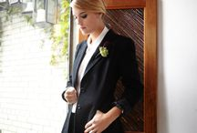 ATTIRE | Suit it up / Wedding day suits for women in love