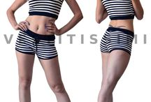 Canotta donna canottiera pantaloncini shorts maglietta palestra sport sexy Mc10