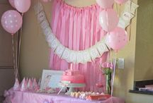 girl baby shower / by Laurie Solis