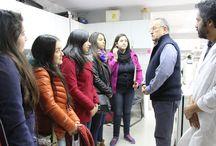 Alumnos y egresados recorren laboratorios de Medicina - 21-07-2015 / Campus República