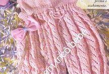 roupas em trico para bebe