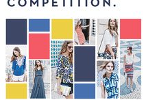 Boden's 'Pin your Palette' competition / Calling all colourful characters. Hunt out the hue in order to win £1000/ $1000 credit. For terms and conditions, visit www.boden.co.uk/pinyourpalette / by Boden