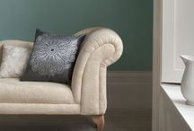 Green colour schemes / Green interior design schemes