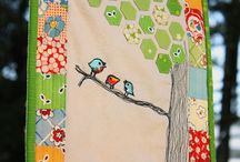 Sewing - Mini pieced and stitched / by Susan Phillips