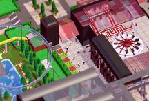 Parkitect Game / Screenshots (teilweise bearbeitet), die ich in der Freizeitpark Aufbausimulation Parkitect gemacht habe und die in direktem Zusammenhang mit meiner Parkitect-Serie auf YouTube stehen.