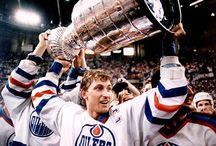 Hockey stuff / Hockey! My favorite sport! / by Joe Michaels