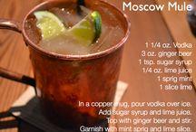 Cocktails / Un elenco dei drink più richiesti.