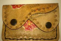 Handtooled Leather