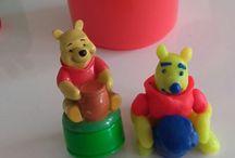 Loisirs / Winnie l' ourson en pâte  à  modeler (comment bien s'amuser avec sa fille)
