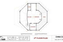 Caribbean Floor Plans by Teak Bali / Caribbean Floor Plans by Teak Bali. Have a look at our China Cat Design.