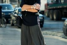 Gonne lunghe, maxi skirts fashion outfits