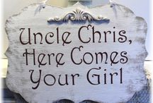 Wedding Signs / Wedding Wood Signs