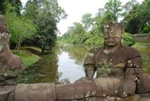 Templos de Angkor / Los templos de Angkor, la mayor construcción religiosa de la historia de la humanidad. Situados en la ciudad de Siem Reap, Camboya.