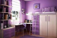 brooklyns bedroom ideas / by Chris Epperley