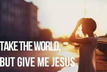 Jesus stuff:)