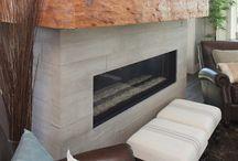 Living Room Ideas - Fireplace