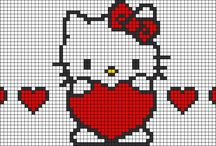 punto de cruz (hello kitty)