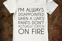 Humour // Funny T-Shirts