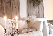Brocante kerst white