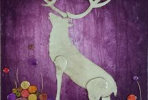 Jayne Smith originals / My mixed media art inspired by nature / by Jayne Smith