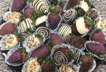 Fresas con Chocolate / Diversos diseños de fresas con chocolate