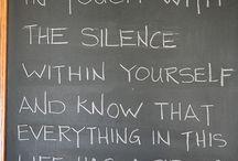 Meditation calm space