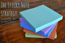 Mama CEO :: My Tiny Empire / All the magical things you can do with a post it note!