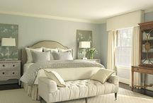 classic living room green