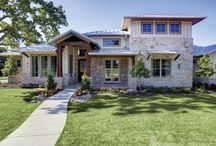 Home Tour: Highland Hills, Texas / A net zero-energy ready house in Texas. Certified Energy Star, Dept. of Energy Challenge Home, Green Built Texas Home features Tuscany® Series casement and picture windows as well as Ultra™ Series patio doors. / by Milgard Windows & Doors